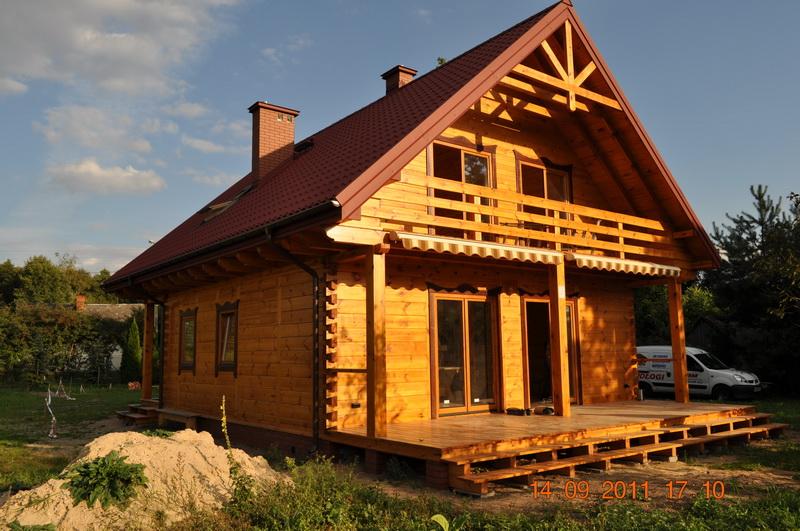 domy z bali całoroczne